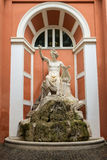 Statua Apollo Citaredo w Rzym, Włochy Obraz Royalty Free