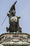 Statua Archduke Charles Fotografia Royalty Free