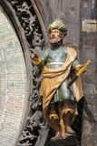 Statua astronom w Praga Obrazy Stock