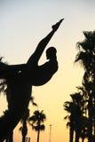 Statua atleta Obrazy Stock