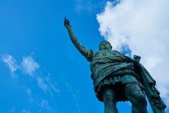 Statua augusta fotografia stock
