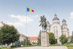 Statua Avram Iancu fotografia stock