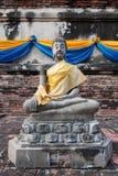 Statua Ayutthaya Tailandia di Buddha Fotografie Stock