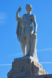 Statua Bachus na Złotej górze w Peterhof, St Petersburg, Rosja Obraz Royalty Free