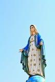 Statua benedetta della Mary di Virgin immagine stock