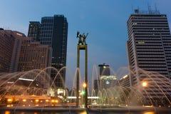 Statua benvenuta Immagini Stock Libere da Diritti