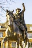 Statua Biała dama w Anglia zdjęcia royalty free