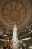 Statua bianca Fotografia Stock