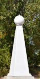 Statua bianca unica Fotografia Stock Libera da Diritti
