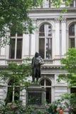 Statua a Boston fotografie stock libere da diritti