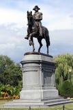 Statua Boston mA del George Washington Immagini Stock Libere da Diritti