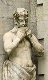 Statua brać przy pakr Massandra pałac niecka, Yalta, Crim Obrazy Royalty Free