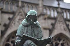 Statua bronzea Fotografia Stock