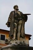 Statua bronzea, Bassano del Grappa, Italia, Europa Fotografie Stock Libere da Diritti