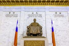Statua bronzea di Chiang Kai-shek Fotografia Stock Libera da Diritti