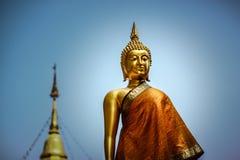Statua Buddha pozycja Zdjęcie Royalty Free
