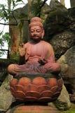 Statua Buddha Sakyamuni Zdjęcia Royalty Free