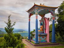 Statua buddista immagine stock