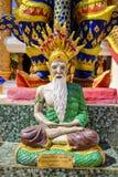 Statua buddista Colourful Immagini Stock