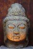 Statua buddista della dea in Tailandia Fotografie Stock Libere da Diritti
