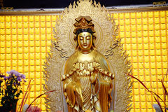 Statua buddista di Kuan Yin fotografia stock libera da diritti