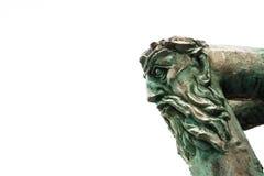 Statua capa Fotografie Stock