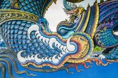 Statua capa del Naga Fotografie Stock