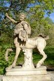 Statua centaur w Pavlovsk Zdjęcie Royalty Free