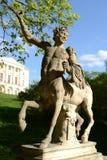 Statua centaur w Pavlovsk Obrazy Royalty Free
