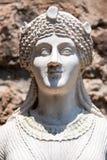 Statua che rappresenta Iside nel sito archeologico di Pompei Immagine Stock