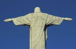 Statua Chrystus odkupiciel, Rio De Janeiro, Brazylia Zdjęcia Royalty Free