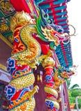 Statua cinese del drago Fotografie Stock Libere da Diritti