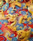 Statua cinese del drago Immagine Stock Libera da Diritti