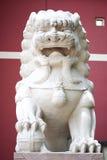 Statua cinese del leone Immagini Stock Libere da Diritti