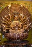 Statua cinese della dea Fotografia Stock