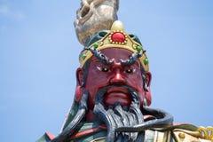 Statua cinese di Guan Yu in isola Koh Samui, Tailandia Fotografia Stock Libera da Diritti