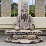 Statua cinese di storia Fotografia Stock