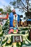 Statua Confucius przy Singapur Haw normy willą obraz stock