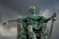 Statua Constantine Fotografia Royalty Free