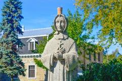 Statua cristiana del nonne Fotografia Stock