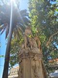 Statua in Croazia Immagine Stock