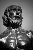 Statua da Auguste Rodin immagini stock