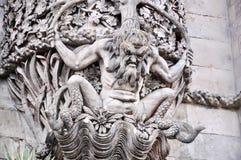 Statua da Sintra, Portogallo Fotografia Stock