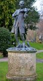 Statua da un parco Immagine Stock Libera da Diritti
