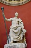Statua dal Vaticano Mueum Immagine Stock