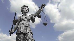 Statua Damy Sprawiedliwość zbiory