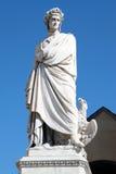 statua dante alighieri 2 Стоковые Изображения