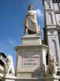 Statua Dante Alighieri Stock Photo