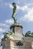 Statua David w Florencja Obrazy Royalty Free