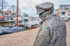 Statua De Lemster Fiskerman Fotografia Royalty Free